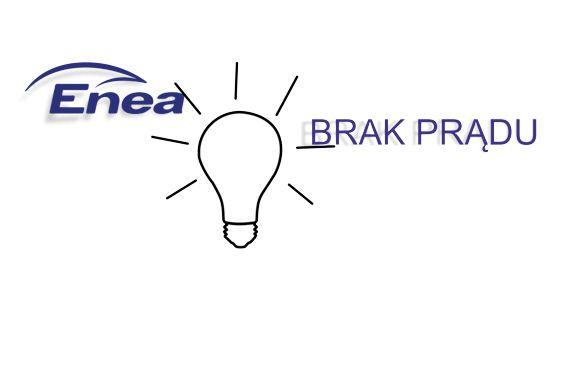 Ilustracja do informacji: Brak prądu w Piaskach