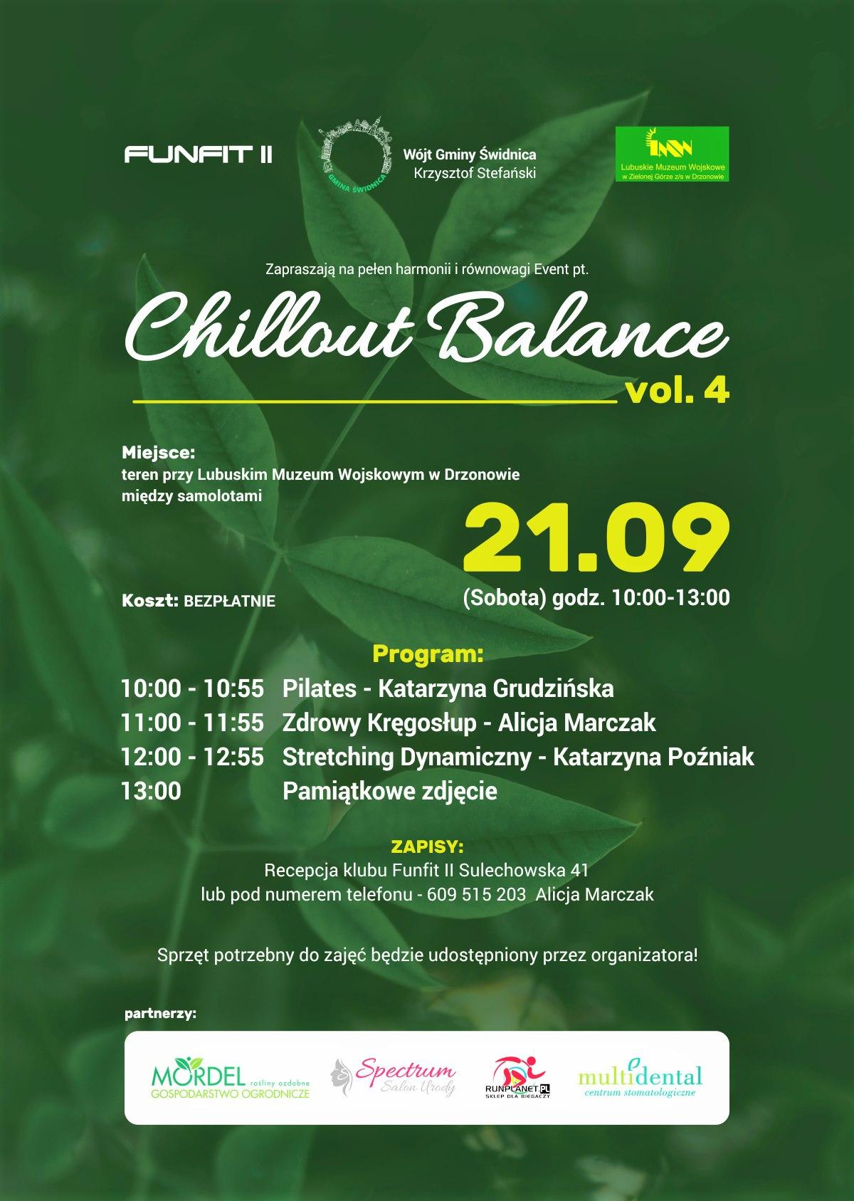 Ilustracja do informacji: Chillout Balans