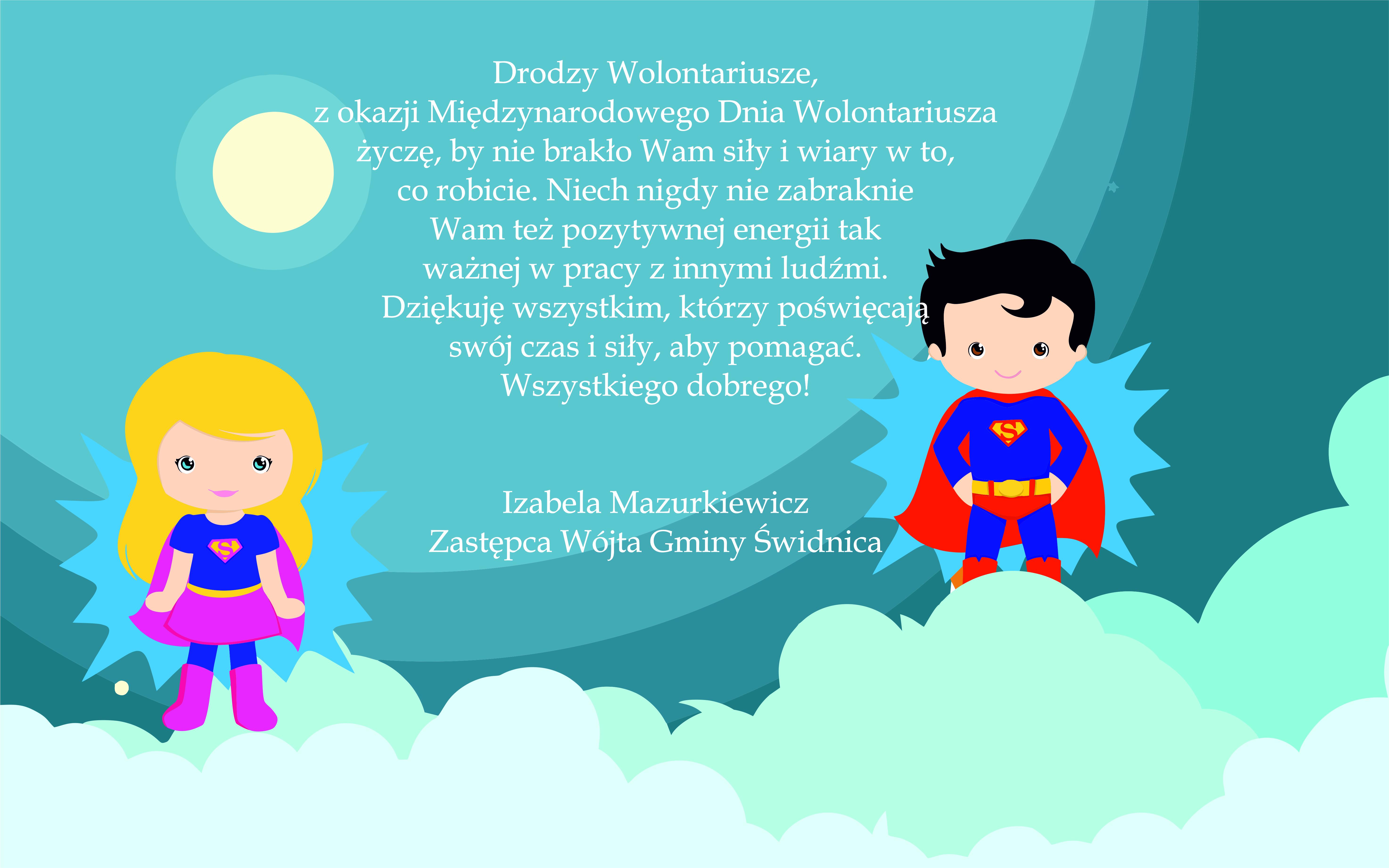 Ilustracja do informacji: Międzynarodowy Dzień Wolontariusza