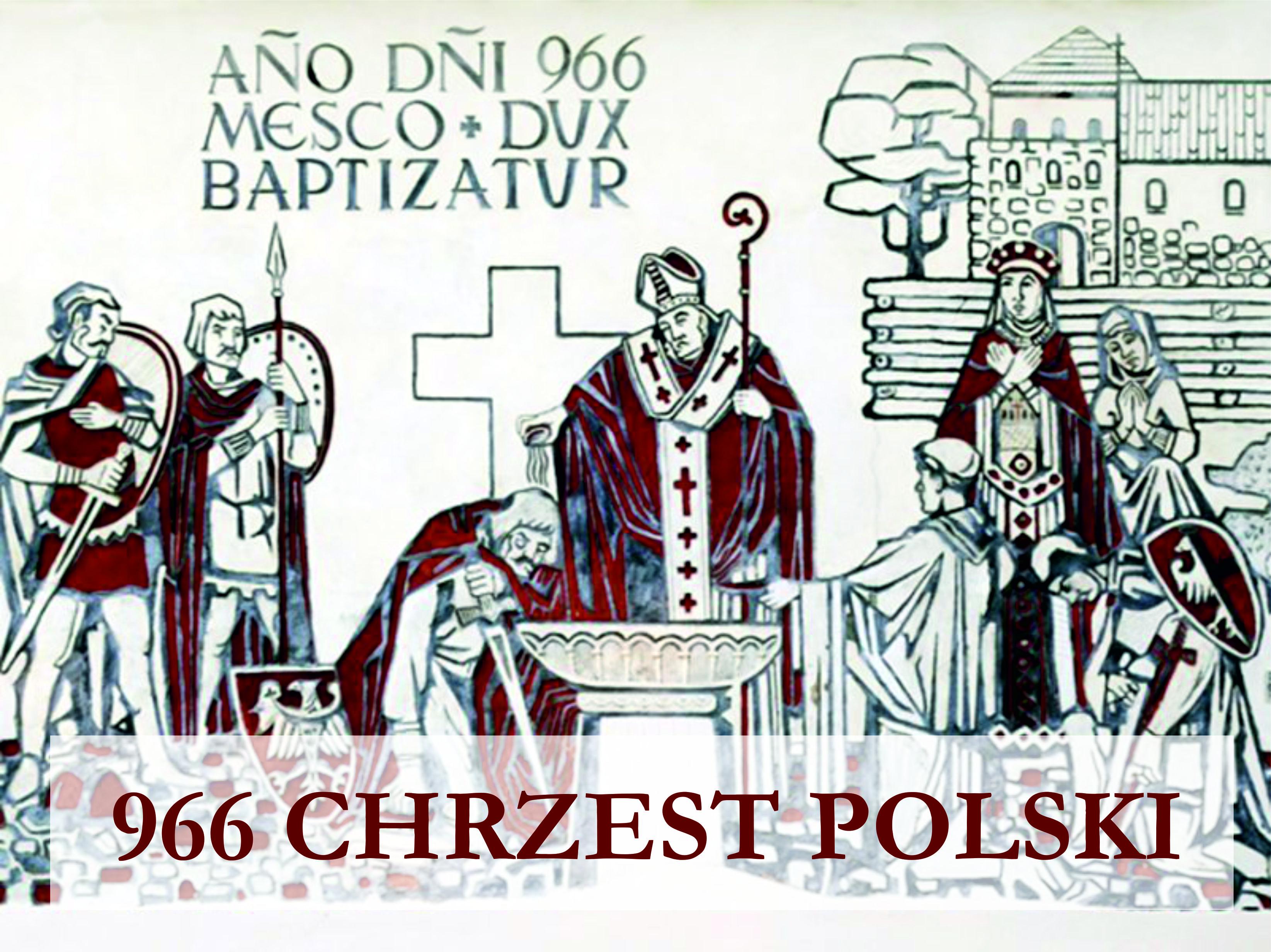 Ilustracja do informacji: Rocznica Chrztu Polski