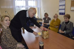 Miniatura zdjęcia: Spotkanie noworoczne w szkole w Słonem