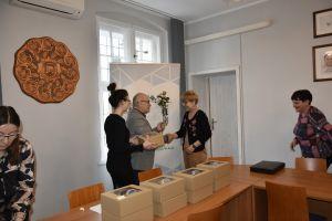 Miniatura zdjęcia: Wójt złożył życzenia Sołtysom