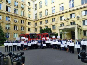 Miniatura zdjęcia: Promesa na wóz strażacki