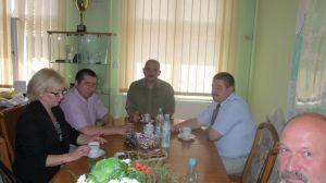 Miniatura zdjęcia: Rosyjska delegacja w Świdnicy