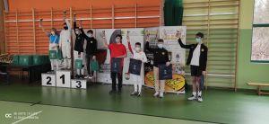 Miniatura zdjęcia: Zwycięzcy w kategorii dzieci XXIII Gali Szermierczej