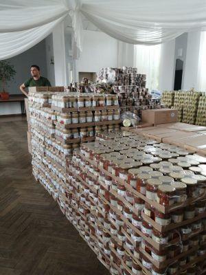 Miniatura zdjęcia: Pomoc żywnościowa dla beneficjentów GOPS-u
