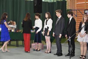 Miniatura zdjęcia:  Pożegnanie uczniów klas ósmych